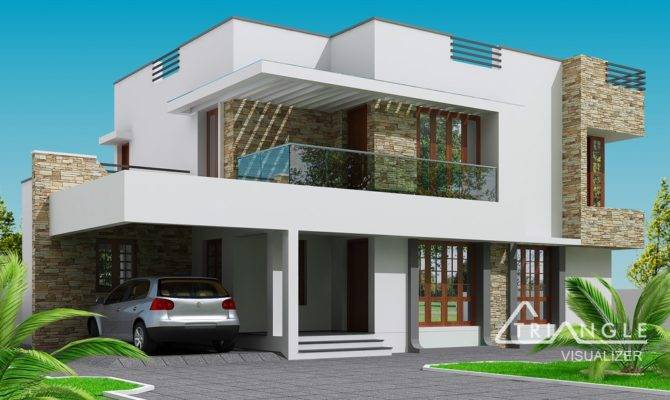 Modern Two Storey House Design Endeligmamma