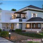 Modern Villa Exterior Kerala Home Design Floor Plans
