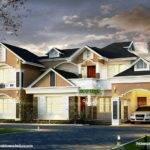 Modern Western Style House Kerala Home Design Floor Plans