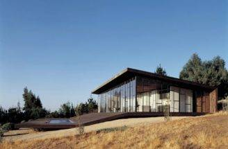 Modern Wooden House Designed Around Deck Digsdigs