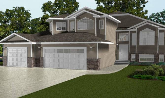 Modified Level House Plans Designs