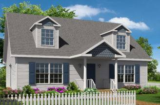 Modular Home Cape Style Homes