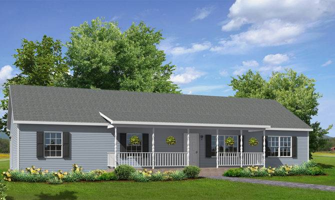 Modular Home Ranch Style Homes