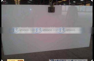 Mohs Cheap Super White Nano Crystal Glass Panel Artificial Stone