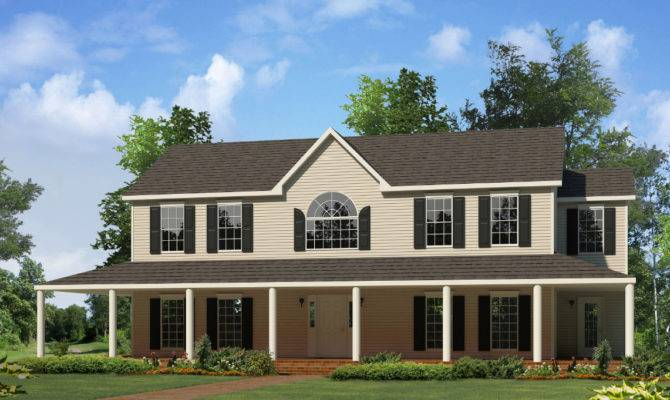 Montgomery Two Story Style Modular Homes
