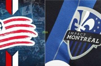 Montreal Impact New England Revolution Nuovi Kit Home Adidas Mls