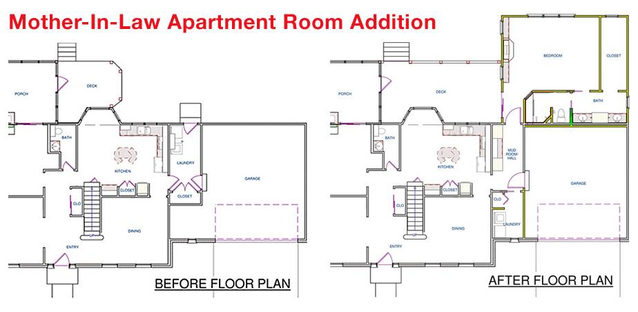 Mother In Law Apartment Floor Plans