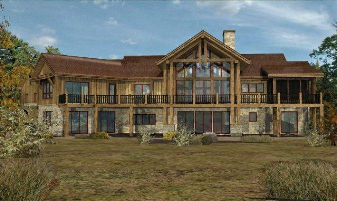 18 Stunning Custom Mountain Home Floor Plans Home
