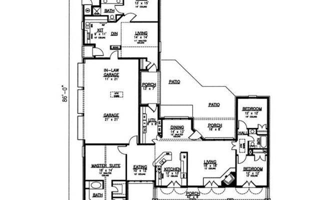 Multi Generational House Plans