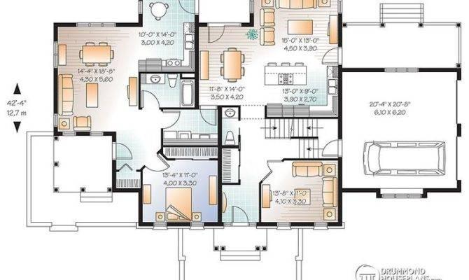Multi Generational Plan Multigenerational House Plans Pinterest