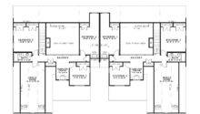 Multi House Plan Second Floor Plans