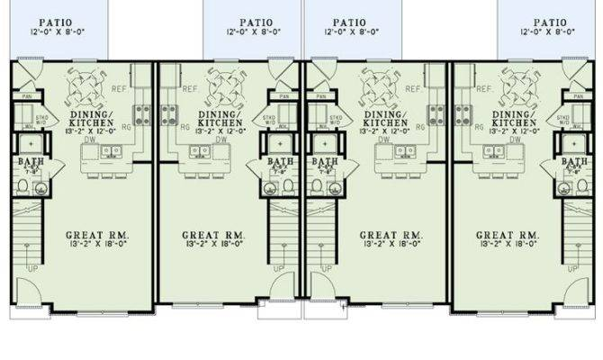 Multi House Plans Apartment Plan