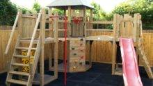 Multi Tower Castle Climbing Frame Playways Playhouses