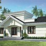 Nano Home Plan Elevation Square Feet Kerala