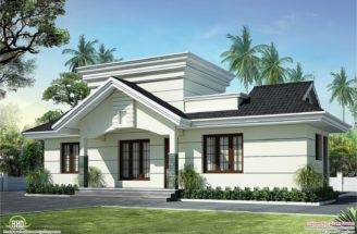 Nano Home Plan Elevation Square Feet Kerala