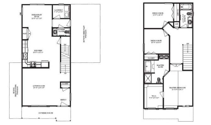 Narrow Lot House Plans Home Floor