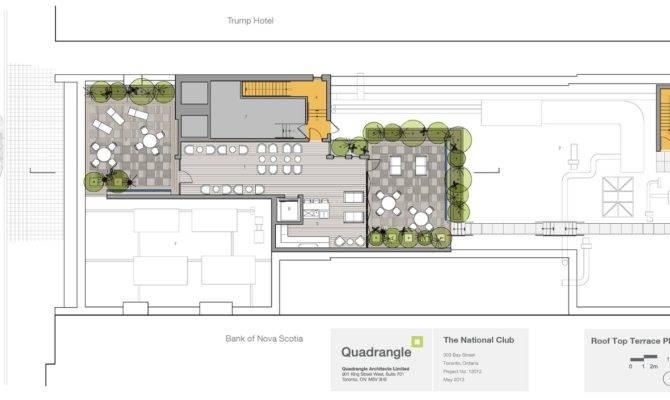 National Club Rooftop Patio Floor Plan