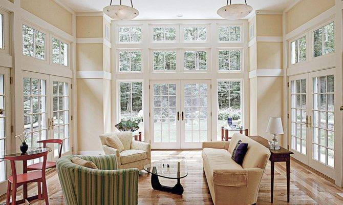 Natural Light Can Maximized Versatile Window Treatments