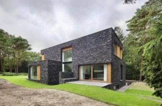 Natural Stone House Design Modern Facade Ideas Home Designs