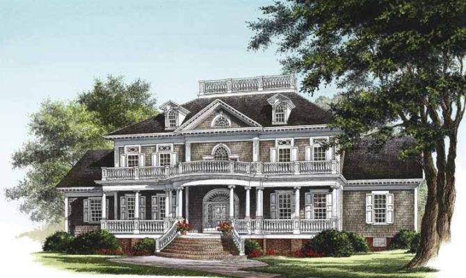 Neoclassical Home Plans Eplans House Floor