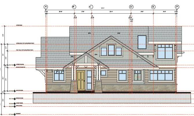 New Home Construction Building Permit Plans North Saanich