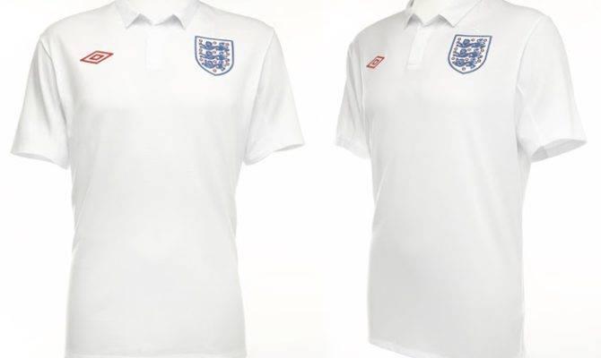 New Kits Blog England Home Shirts