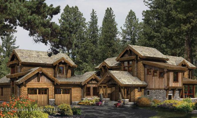 21 Wonderful Log Cabin Style House Home Building Plans