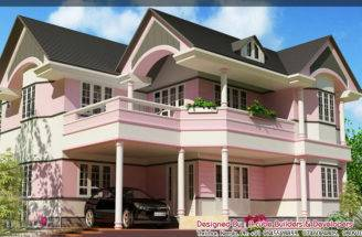 New Style House Elevation