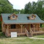 Nice Log Cabin Build Building