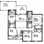 Nice One Story Country House Plans