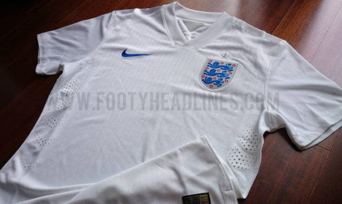 Nike England World Cup Home Away Kits Released Footy