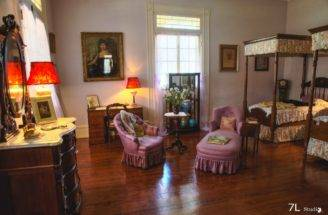 Oak Alley Plantation Interior Home