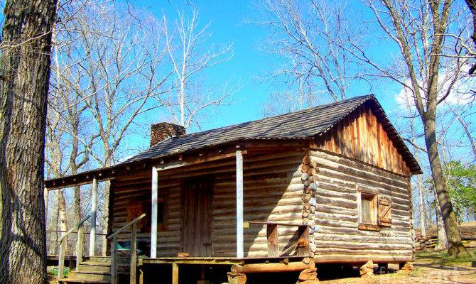 One Room Log Cabin Plans Frompo