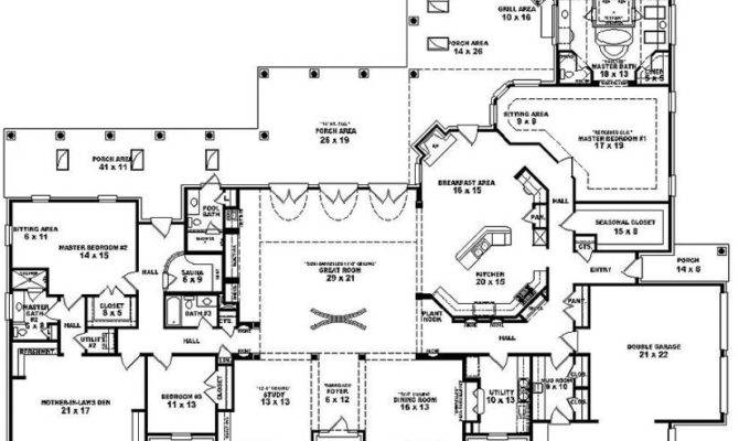delighful one story house plans with decorating