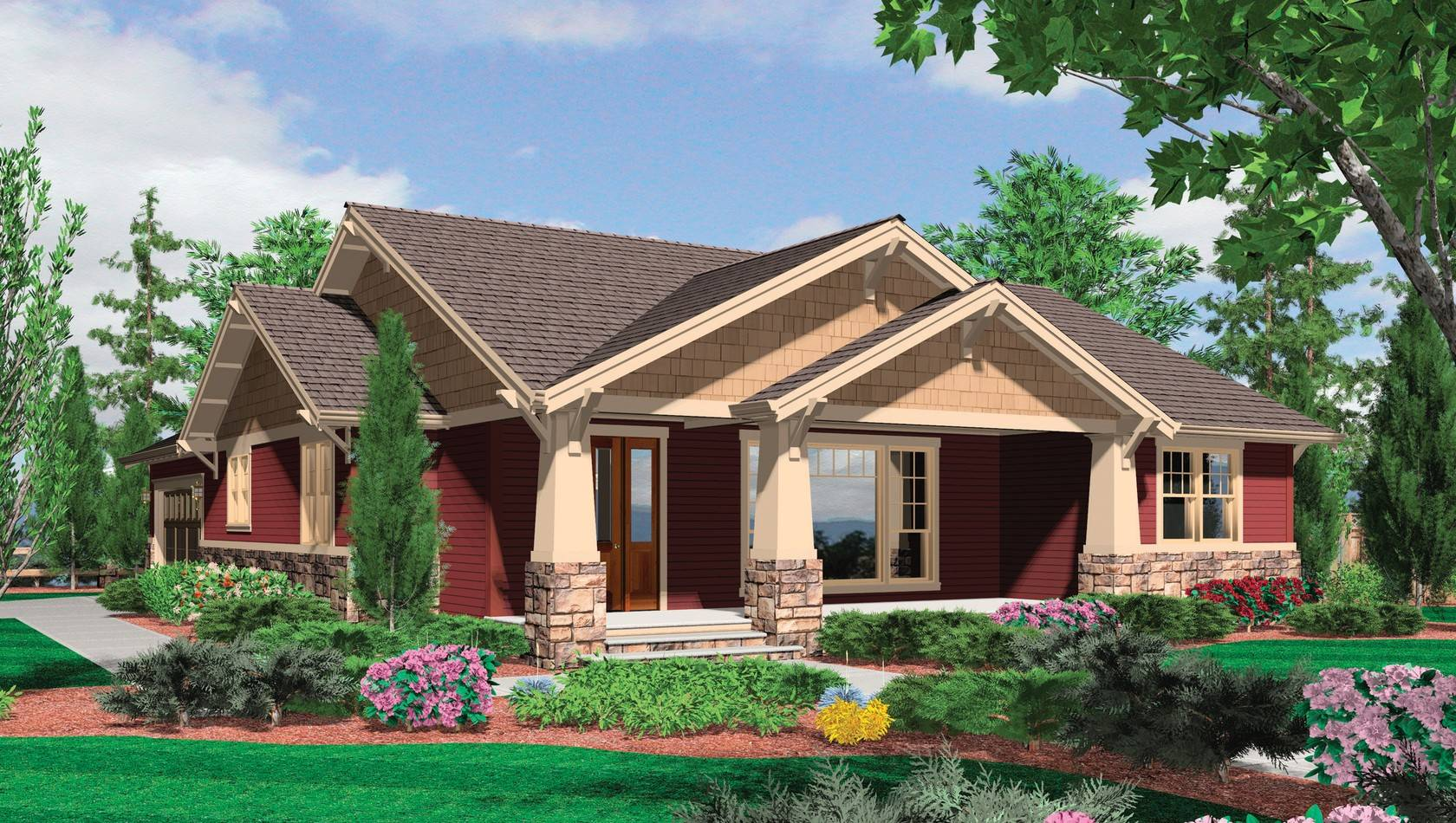 one story house plans with front porches discover your 2 one story house plans with walkout basement house layout
