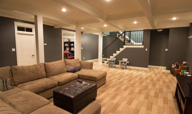 Open Basement Floor Plan Ideas Pinterest