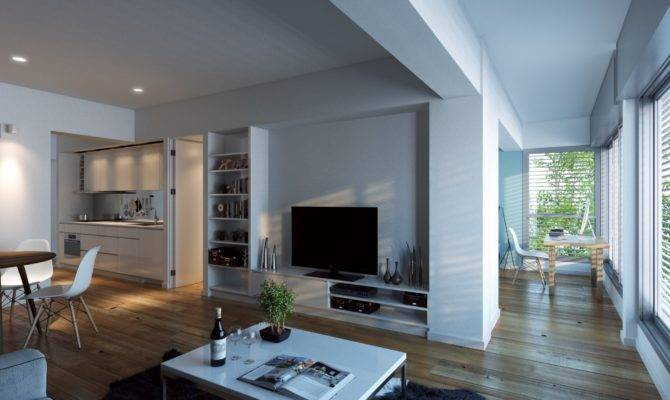 Open Floor Plans Can Make Living Room Even More Central Seen