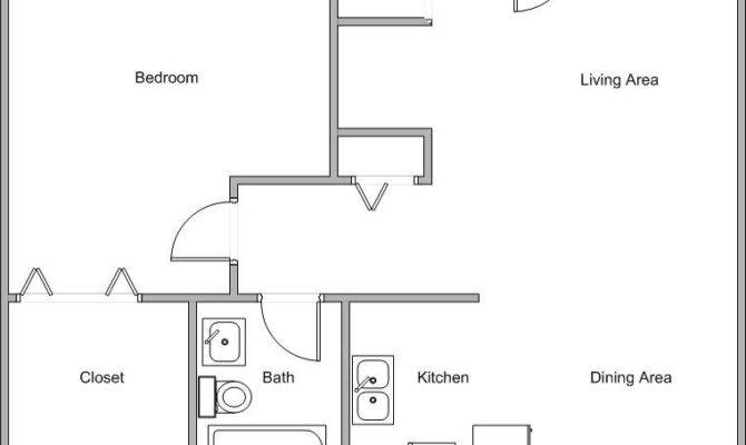 Open Floor Small Home Plans Cmonk