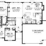 Open Floor Small Home Plans Ranch Plan Hwbdo