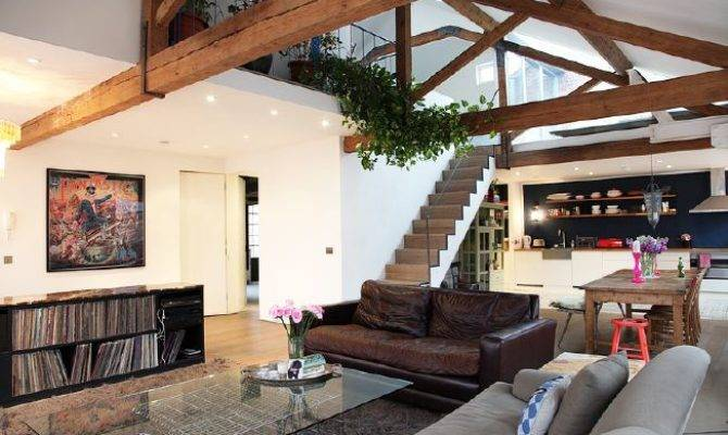 Open Plan Loft Converted Organ Factory Situated First