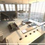 Open Plan Penthouse Design Layout Interior Ideas