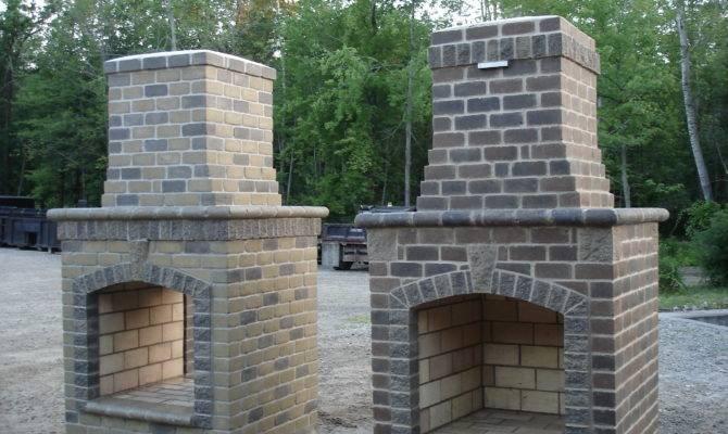 Outdoor Fireplace Building Plans House