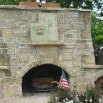 Outdoor Fireplace Construction Plans Submited Pic Fly