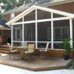 Outdoor Patio Designs Fireplace Kit Screen Porch Ideas