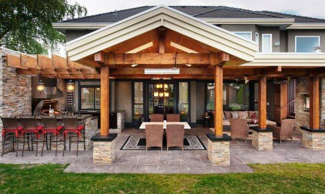 Outdoor Pool House Ideas Kitchen Plans Pools