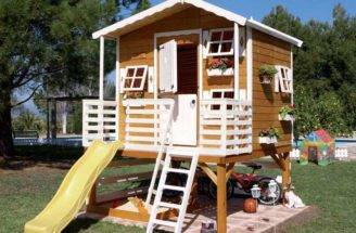 Outdoor Wood Playhouses Kids