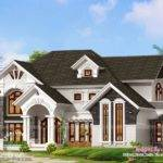 Outstanding Luxury Villa Exterior Kerala Home Design Floor Plans