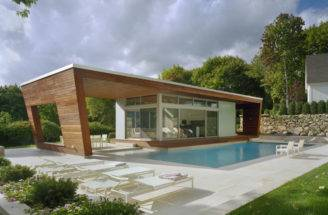 Outstanding Swimming Pool House Design Hariri Architecture