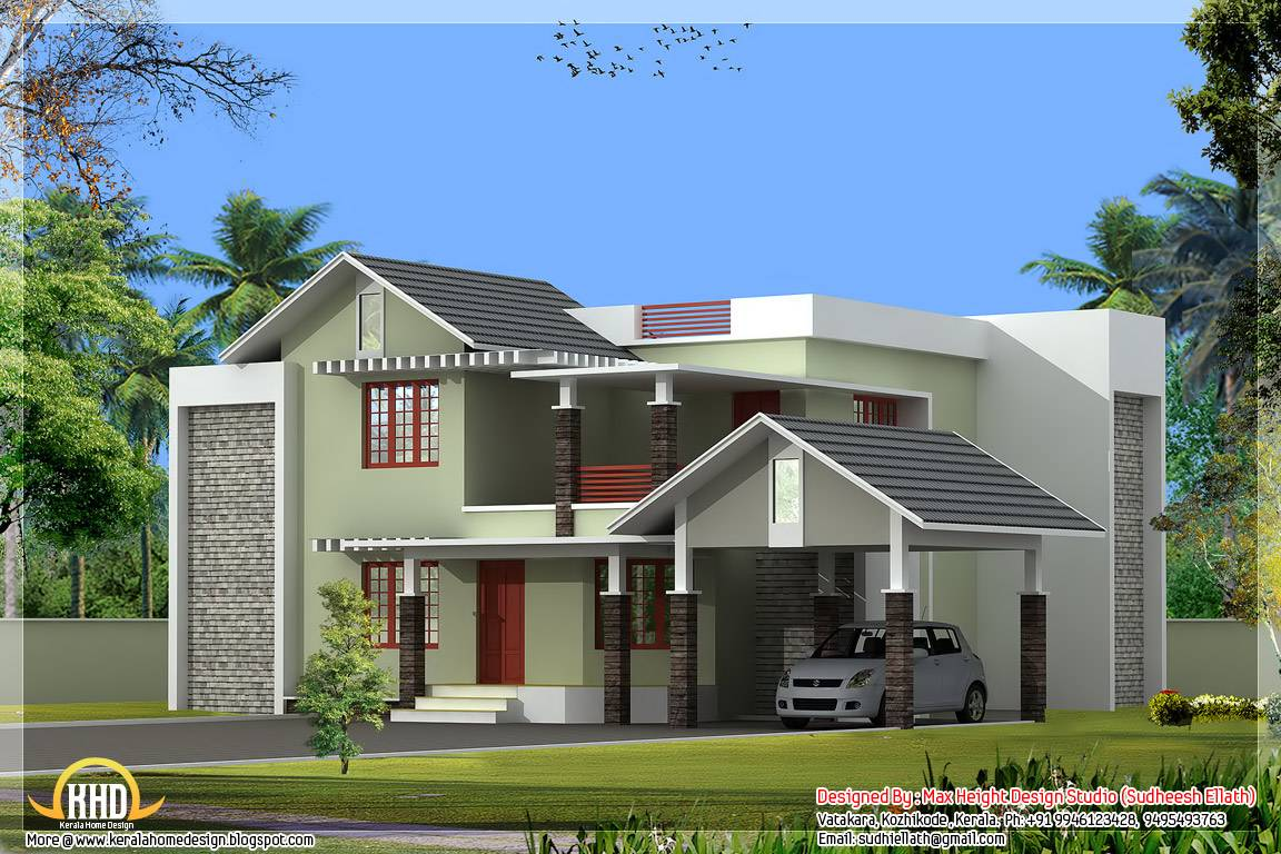 Contemporary Style Homes In Kerala  House Design Ideas - Kerala design homes