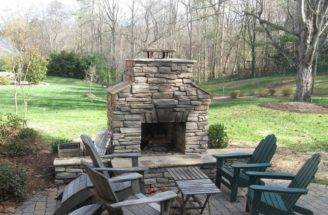 Patio Fireplace Outdoor Design Ideas Basic Rules